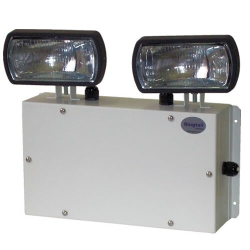 IP65 Twin Emergency Spotlights (Twin Spots) with Halogen Lamps - TSWS