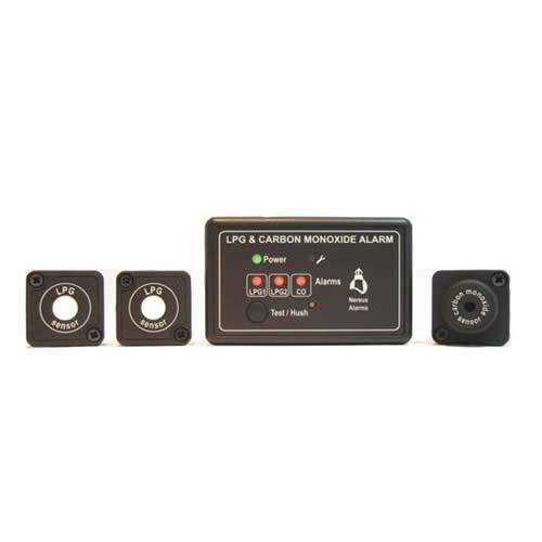 Nereus 2 LPG and 1 CO Gas Sensor and control unit