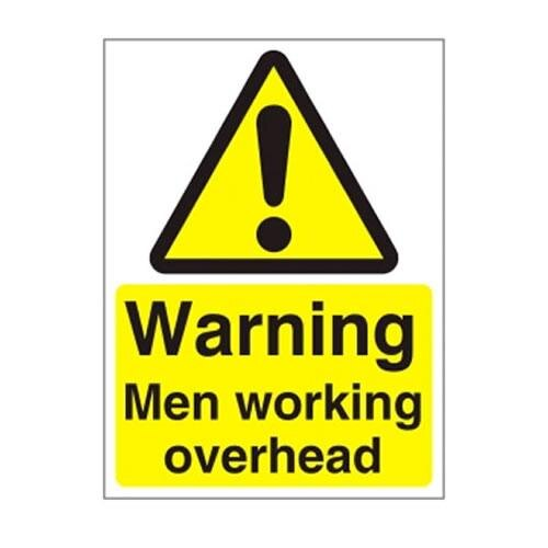 Warning and Danger Signs - Warning, Working Overhead