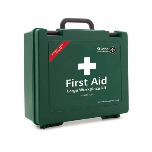 St John Ambulance BS 8599-1 Compliant Statutory First Aid Kits