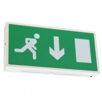 Image of the Economy LED Fire Exit Sign - X-ES