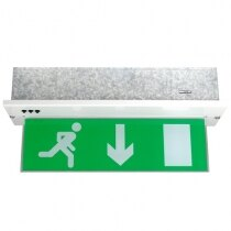 Image of the Recessed LED Fire Exit Sign with Self-Test - X-MPR