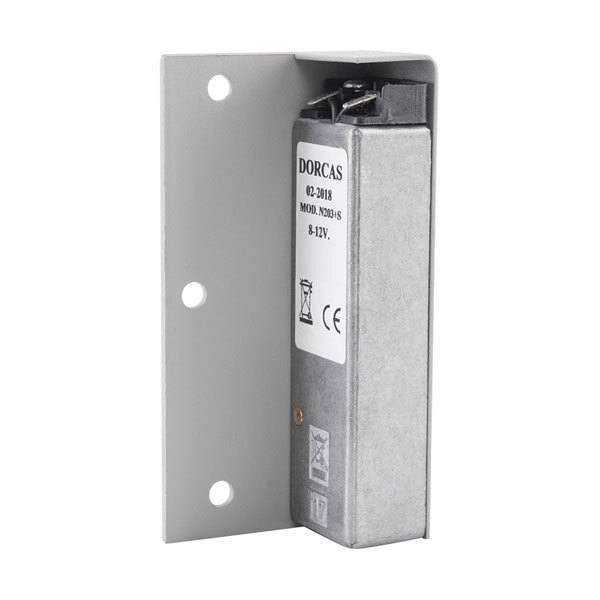 Suitable for securing timber and aluminium doors
