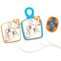 Image of the Cardiac Science Powerheart G5 Adult Defibrillator Pads with CPR Device