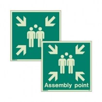 Image of the Assembly Area Signs From Jalite