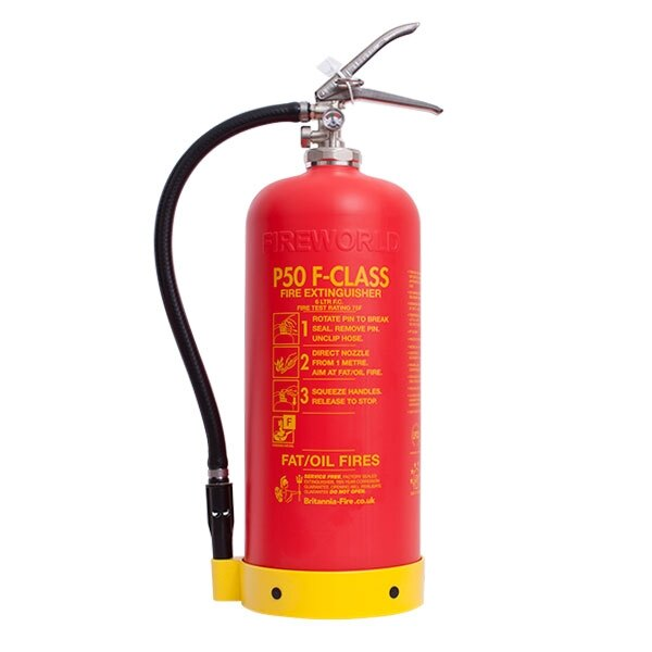 Service-Free 6ltr Wet Chemical Fire Extinguisher - Britannia P50