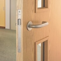 Image of the Briton Fire Door Kit - Lever on Rose Latch Kit
