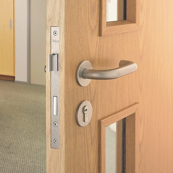 & Briton Fire Door Kit - Lever on Rose Locking Kit