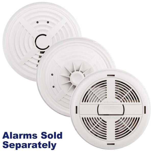 BRK Mains Powered Smoke Alarms with Alkaline Back-up Battery 600 Series