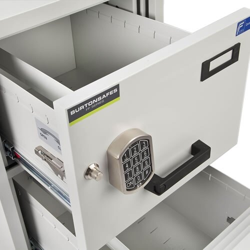 The Burton FF200MK/II can be used to store A4 and Foolscap files