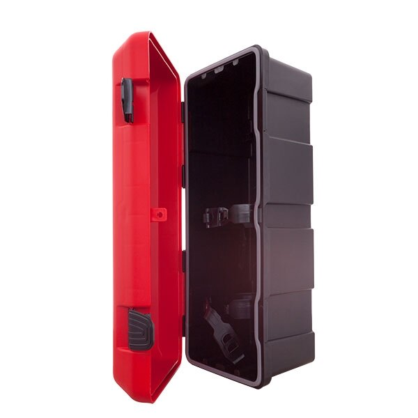 ... Fire Extinguisher Cabinet There Are Two Strong Elastic PVC Ties Inside  To Keep Your Extinguisher Secure ...