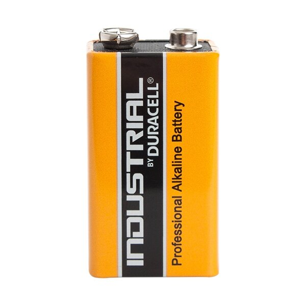9V Duracell Industrial Alkaline Battery