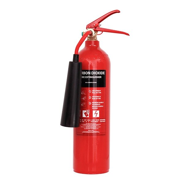 refurbished 2kg co2 fire extinguisher. Black Bedroom Furniture Sets. Home Design Ideas