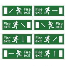 Image of the Self-Adhesive EEC Directive Fire Exit Signs