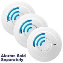 Image of the Mains Radio-Interlink Smoke & Heat Alarms with Lithium Back-up Ei160eRF Series