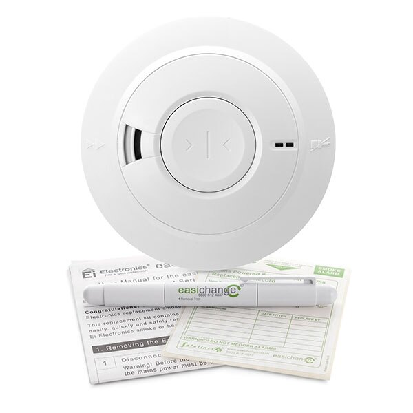 Ei161 replacement ionisation smoke alarm