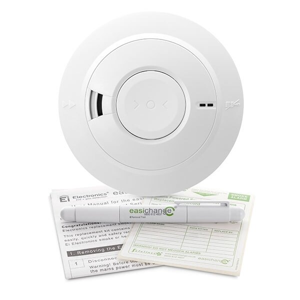 Easichange Replacement Smoke Alarm for Ei166, Ei166RC and Ei166e