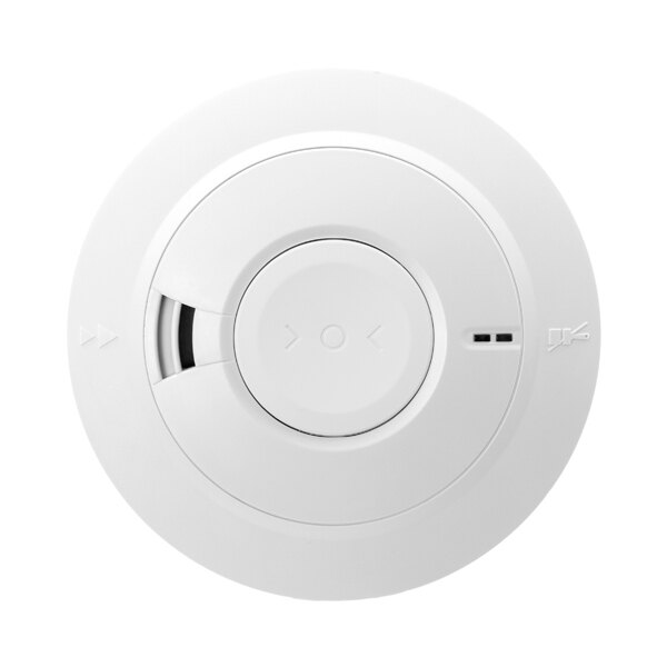 Mains Powered Optical Smoke Alarm with Lithium Back-up Battery - Ei166e