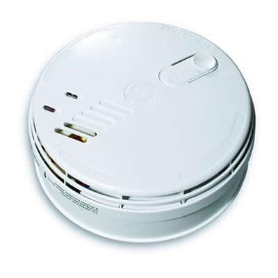 Low Voltage Ionisation Smoke Alarm with Battery Backup - Ei181
