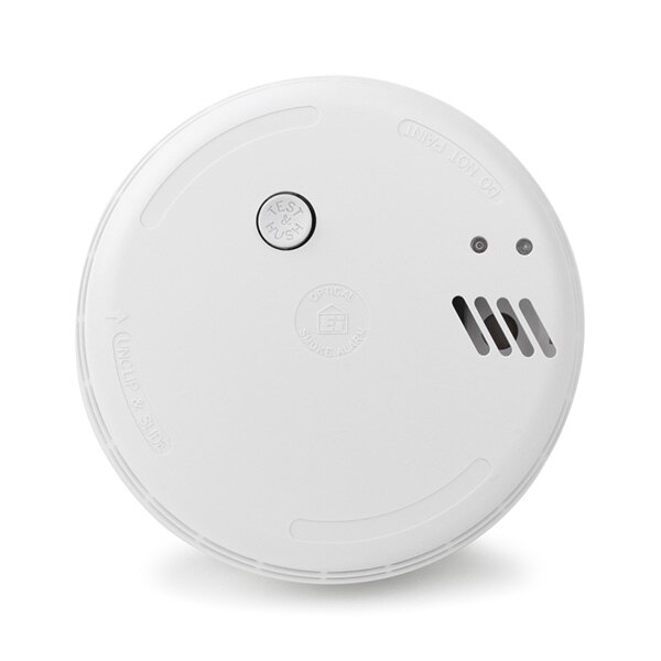 Low Voltage Optical Smoke Alarm With Battery Backup Ei186