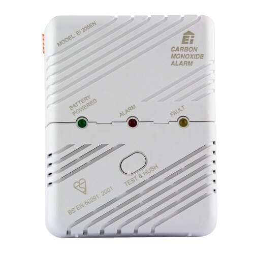 LED Carbon Monoxide Detector with Memory - Ei205EN