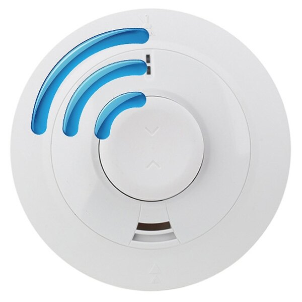 Mains Powered Radio-Interlinked Combined Optical Smoke and Heat Alarm with Lithium Back-up Battery - Ei2110eRF