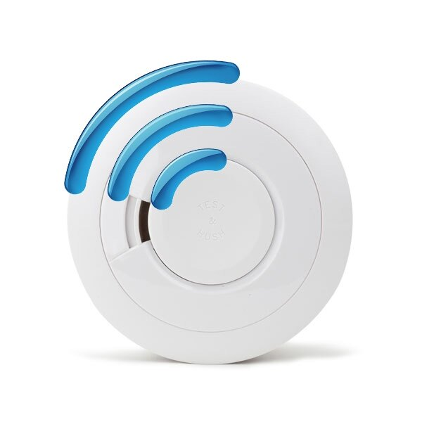 Radio-Interlinked Smoke Alarm with Sealed Ten Year Lithium Battery - Ei650RF