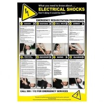 Image of the Electric Shock Resuscitation Poster
