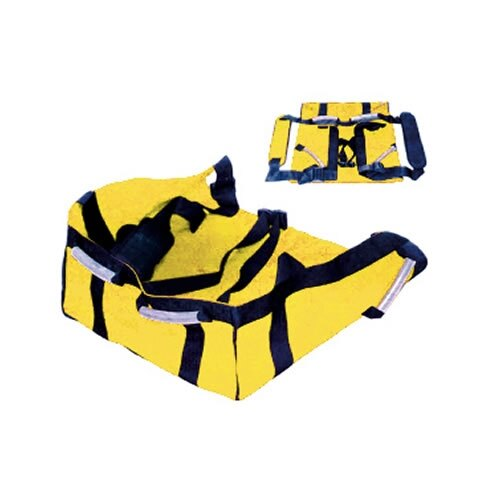 The patient seat carrier is ideal for use by two persons