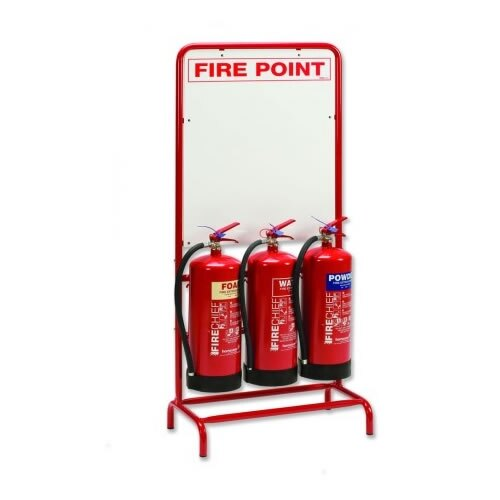 Fire Extinguisher and Signage Site Safety Point