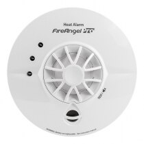 Image of the Mains Powered Heat Alarm with Lithium Back-up Battery - FireAngel Pro HT-230