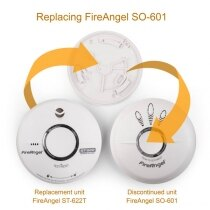 Image of the Replacement for FireAngel SO-601 9V Optical Smoke Alarm