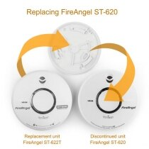 Image of the Replacement for FireAngel ST-620 10 Year Smoke Alarm