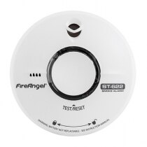 Image of the 10 Year Thermally Enhanced Optical Smoke Alarm (Thermoptek) - FireAngel ST-622