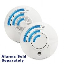 Image of the Mains Radio-Interlink Smoke Alarms with Lithium Battery - FireAngel Pro WST230