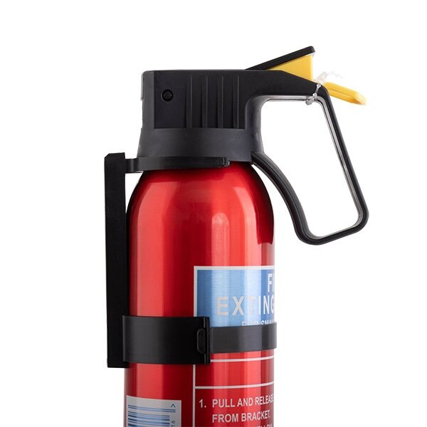 Alpha fire extinguisher supplied complete with mounting bracket