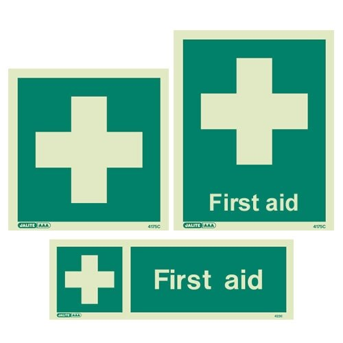 First Aid Station Signs From 163 3 39 Ex Vat