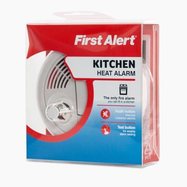 9v heat alarm with test and hush button ha300 ex vat. Black Bedroom Furniture Sets. Home Design Ideas