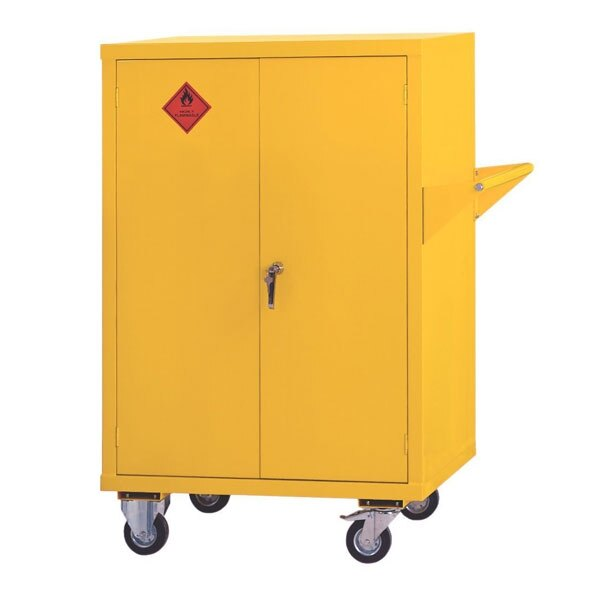 Mobile Flammable Liquid Cabinet - Size 2