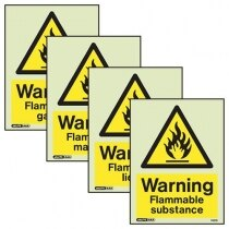 Image of the Flammable Warning Signs