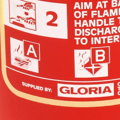 Foam extinguishers can be used on class A and class B type fires