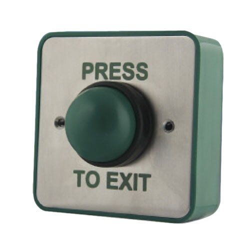 Access Control Green Dome Exit Button