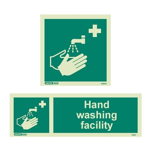 Hand Washing Facility Signs