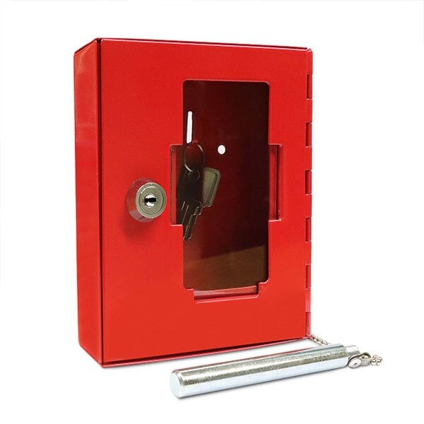 In-Key Emergency Break Glass Key Cabinet