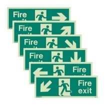Image of the Fire Exit Signs from JALITE