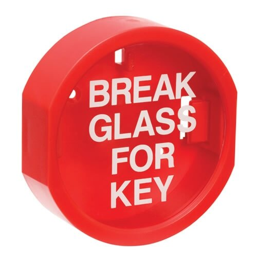 Plastic Fronted Quot Break Glass Quot Keybox