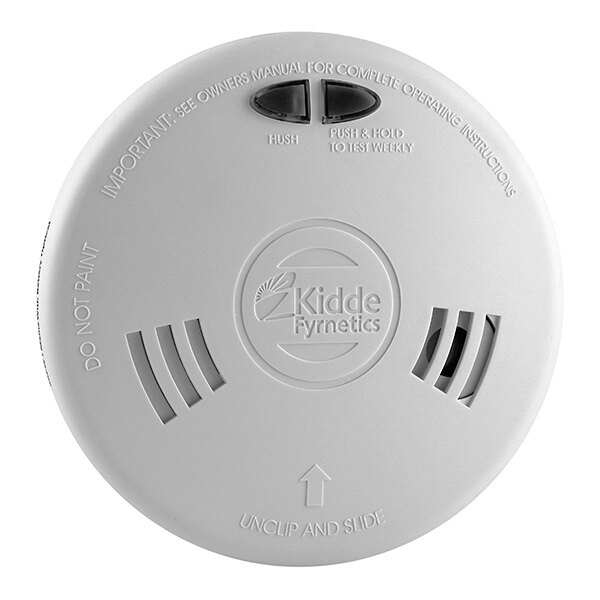 Ionisation Alarm with Alkaline Back-Up Battery - KE1SFW