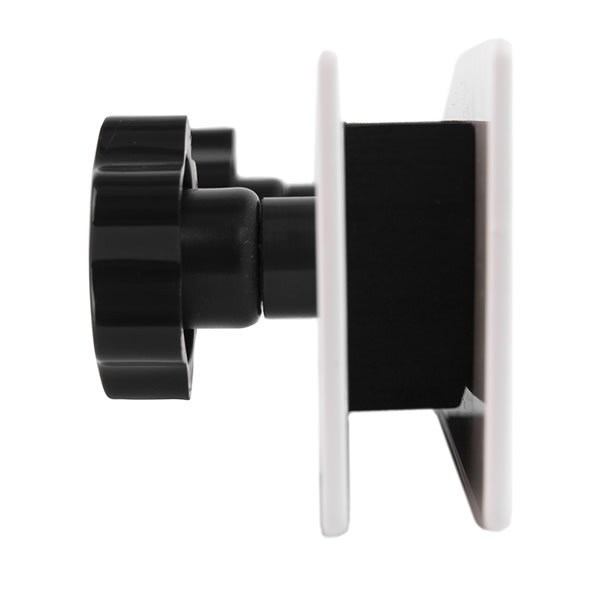 Supplied with foam gasket to avoid damage to the letterbox aperture.