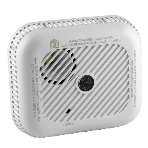 Mains Powered Optical Smoke Alarm with Lithium Back-up Battery - Ei156 (Ei156TLH)