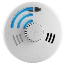 Image of the Mains Radio-Interlinked Heat Alarm with Back-up Battery - Kidde Slick 3SFWRF